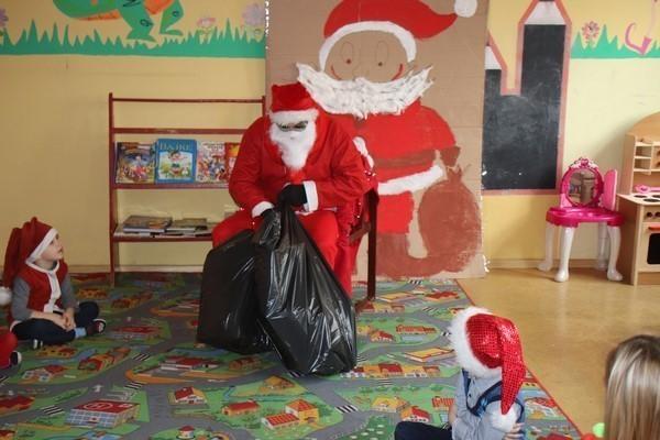 Wizyta Mikołaja w szkole